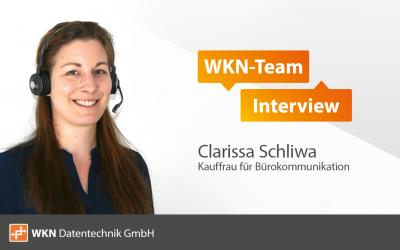 WKN-Team Interview mit Clarissa Schliwa