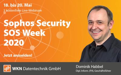 Kostenloses Webinar: Sophos Security Week 2020