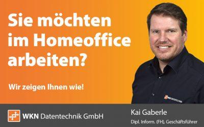Zu Coronazeiten: Mit uns ins HomeOffice