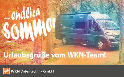 Endlich Sommer: Urlaubsgrüße vom WKN-Team
