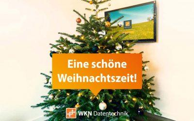 WKN wünscht eine schöne Weihnachtszeit