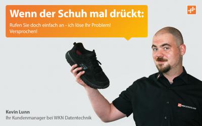 Wenn der Schuh mal irgendwo drückt…