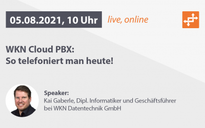 WKN Sommer-Akademie: Webcast am 05.08.2021