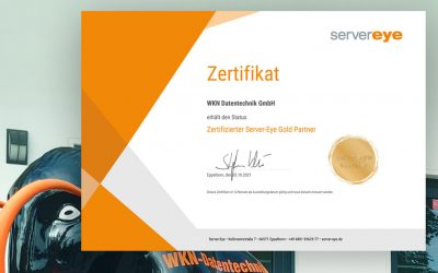 Wir sind zertifizierter Server-Eye Gold-Partner